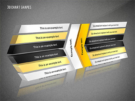 Process and Org 3D Charts Toolbox, Slide 15, 02811, Business Models — PoweredTemplate.com