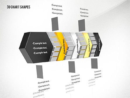 Process and Org 3D Charts Toolbox, Slide 5, 02811, Business Models — PoweredTemplate.com