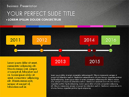 Business Presentation Template with Charts, Slide 10, 02812, Presentation Templates — PoweredTemplate.com