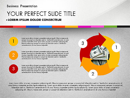 Business Presentation Template with Charts, Slide 7, 02812, Presentation Templates — PoweredTemplate.com