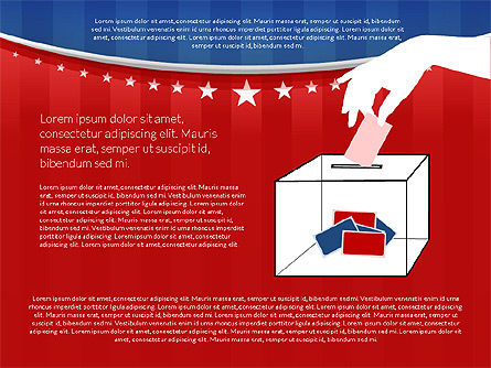 USA Election Results Presentation Template, Slide 11, 02813, Presentation Templates — PoweredTemplate.com