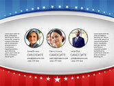Presentation Templates: USA Election Results Presentation Template #02813