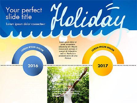 Holiday Concept Presentation Template, Slide 12, 02816, Presentation Templates — PoweredTemplate.com