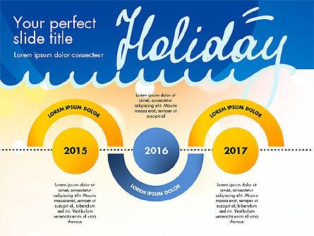 Holiday Concept Presentation Template, Slide 16, 02816, Presentation Templates — PoweredTemplate.com