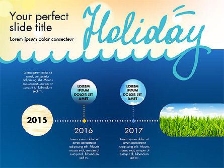 Holiday Concept Presentation Template, Slide 3, 02816, Presentation Templates — PoweredTemplate.com
