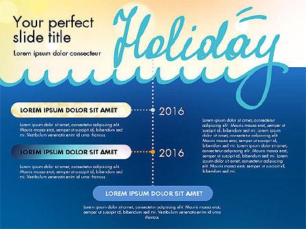 Holiday Concept Presentation Template, Slide 5, 02816, Presentation Templates — PoweredTemplate.com