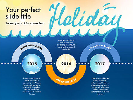 Holiday Concept Presentation Template, Slide 8, 02816, Presentation Templates — PoweredTemplate.com