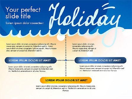 Holiday Concept Presentation Template, Slide 9, 02816, Presentation Templates — PoweredTemplate.com