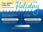Presentation Templates: Holiday Concept Presentation Template #02816