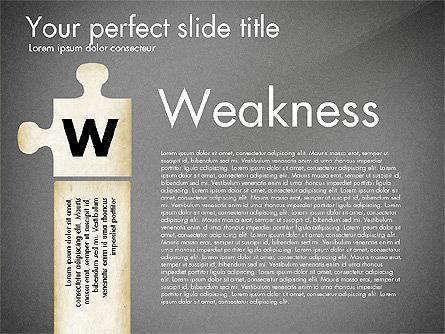 SWOT Analysis, Slide 12, 02817, Business Models — PoweredTemplate.com