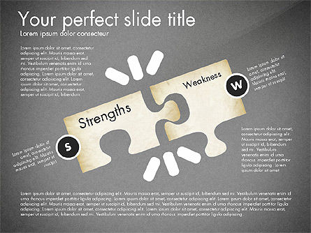SWOT Analysis, Slide 13, 02817, Business Models — PoweredTemplate.com