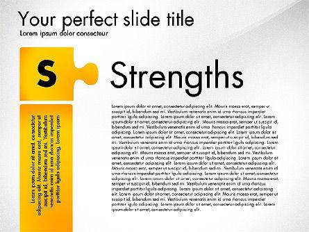 SWOT Analysis, Slide 2, 02817, Business Models — PoweredTemplate.com
