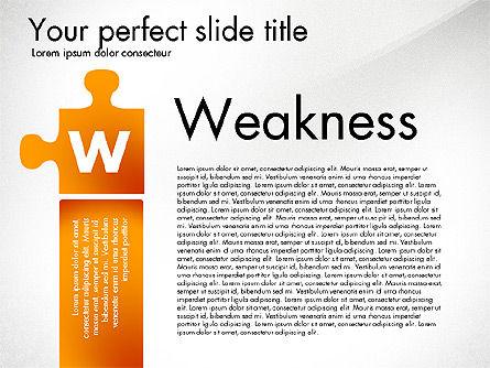 SWOT Analysis, Slide 4, 02817, Business Models — PoweredTemplate.com
