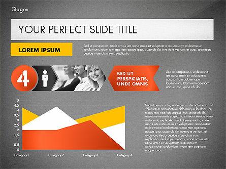 Stages Presentation Concept, Slide 15, 02819, Stage Diagrams — PoweredTemplate.com