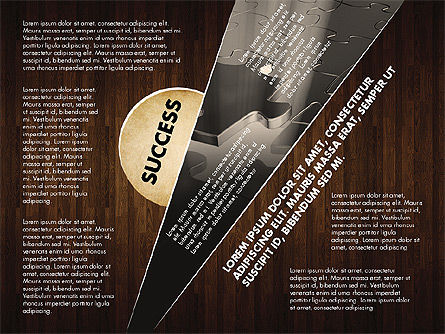 Success Strategy Execution Presentation Concept, Slide 10, 02820, Stage Diagrams — PoweredTemplate.com