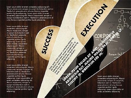 Success Strategy Execution Presentation Concept, Slide 11, 02820, Stage Diagrams — PoweredTemplate.com