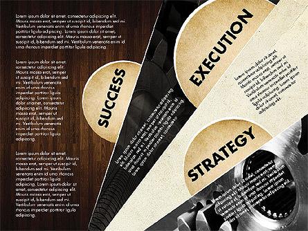 Success Strategy Execution Presentation Concept, Slide 12, 02820, Stage Diagrams — PoweredTemplate.com