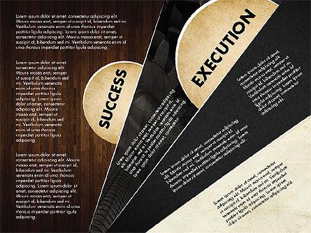 Success Strategy Execution Presentation Concept, Slide 13, 02820, Stage Diagrams — PoweredTemplate.com