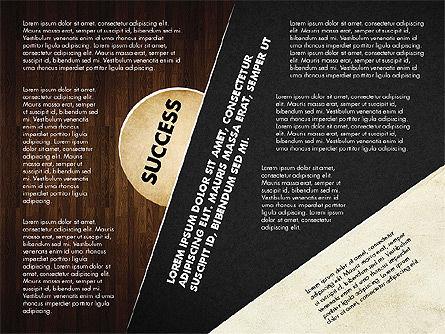 Success Strategy Execution Presentation Concept, Slide 14, 02820, Stage Diagrams — PoweredTemplate.com