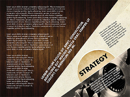 Success Strategy Execution Presentation Concept, Slide 15, 02820, Stage Diagrams — PoweredTemplate.com