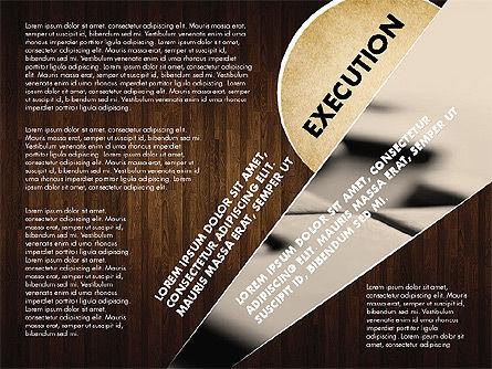 Success Strategy Execution Presentation Concept, Slide 16, 02820, Stage Diagrams — PoweredTemplate.com