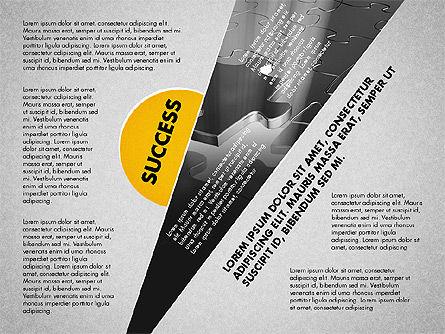 Success Strategy Execution Presentation Concept, Slide 2, 02820, Stage Diagrams — PoweredTemplate.com