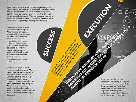 Success Strategy Execution Presentation Concept, Slide 3, 02820, Stage Diagrams — PoweredTemplate.com