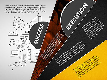 Success Strategy Execution Presentation Concept, Slide 5, 02820, Stage Diagrams — PoweredTemplate.com