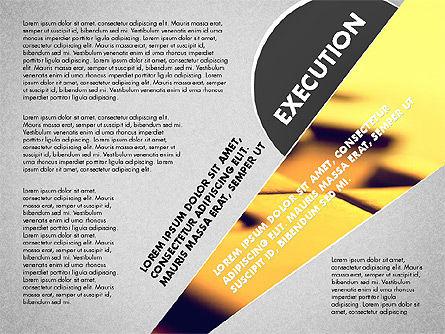 Success Strategy Execution Presentation Concept, Slide 8, 02820, Stage Diagrams — PoweredTemplate.com