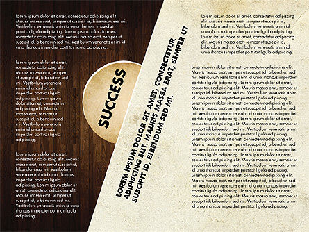Success Strategy Execution Presentation Concept, Slide 9, 02820, Stage Diagrams — PoweredTemplate.com