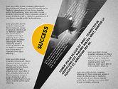 Success Strategy Execution Presentation Concept#2