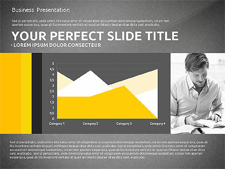 Company Results with Data Driven Charts, Slide 13, 02822, Data Driven Diagrams and Charts — PoweredTemplate.com