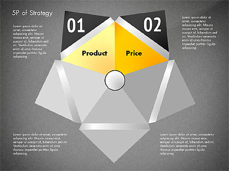 Five Ps For Strategy, Slide 10, 02823, Business Models — PoweredTemplate.com