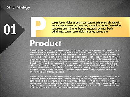 Five Ps For Strategy, Slide 15, 02823, Business Models — PoweredTemplate.com