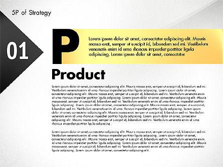 Five Ps For Strategy, Slide 7, 02823, Business Models — PoweredTemplate.com