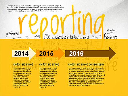 Credit Rating Presentation Template, Slide 2, 02824, Presentation Templates — PoweredTemplate.com