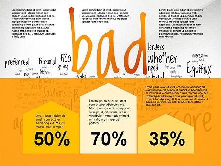 Credit Rating Presentation Template, Slide 3, 02824, Presentation Templates — PoweredTemplate.com