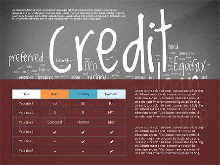 Credit Rating Presentation Template, Slide 9, 02824, Presentation Templates — PoweredTemplate.com
