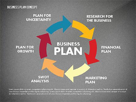 Business Plan Presentation Concept, Slide 13, 02825, Business Models — PoweredTemplate.com