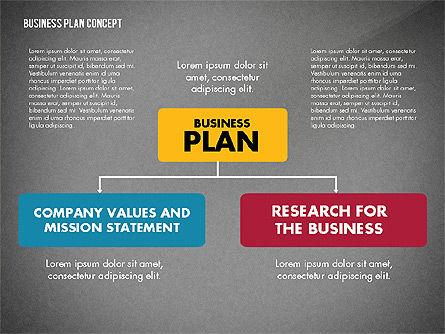 Business Plan Presentation Concept, Slide 14, 02825, Business Models — PoweredTemplate.com