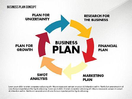 Business Plan Presentation Concept, Slide 5, 02825, Business Models — PoweredTemplate.com