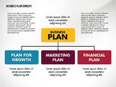 Business Models: Business Plan Presentation Concept #02825