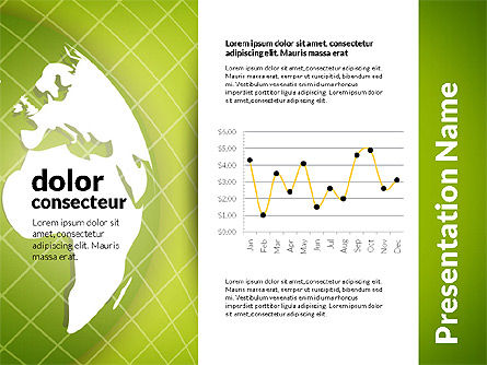 Data Driven Global Economy Presentation Template, Slide 7, 02826, Data Driven Diagrams and Charts — PoweredTemplate.com