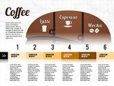 Infographics: Coffee Bean Infographics #02828