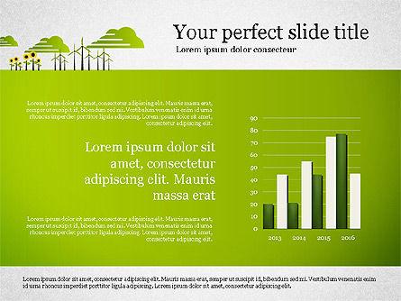 Ecology Presentation with Data Driven Charts, Slide 4, 02830, Presentation Templates — PoweredTemplate.com