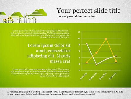 Ecology Presentation with Data Driven Charts, Slide 7, 02830, Presentation Templates — PoweredTemplate.com