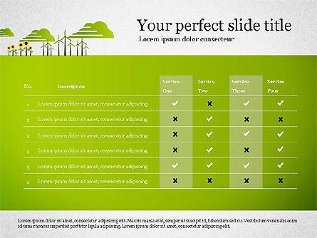 Ecology Presentation with Data Driven Charts, Slide 8, 02830, Presentation Templates — PoweredTemplate.com