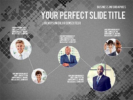 Elegant Business Presentation Template in Flat Design, Slide 10, 02831, Presentation Templates — PoweredTemplate.com