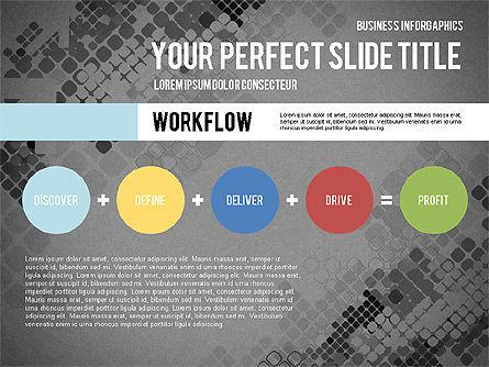 Elegant Business Presentation Template in Flat Design, Slide 12, 02831, Presentation Templates — PoweredTemplate.com