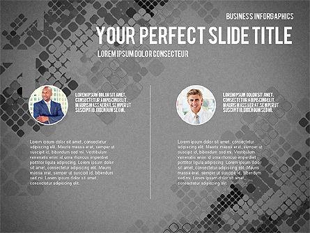 Elegant Business Presentation Template in Flat Design, Slide 13, 02831, Presentation Templates — PoweredTemplate.com